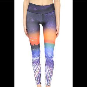 Onzie Leggings Galaxy Yoga City Of Angels Pants S